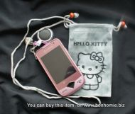 Hello Kitty Pouch Grey