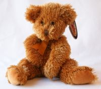 Mary Meyer Gold Shaggy Bear