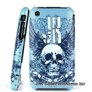 iPhone Skull Winged